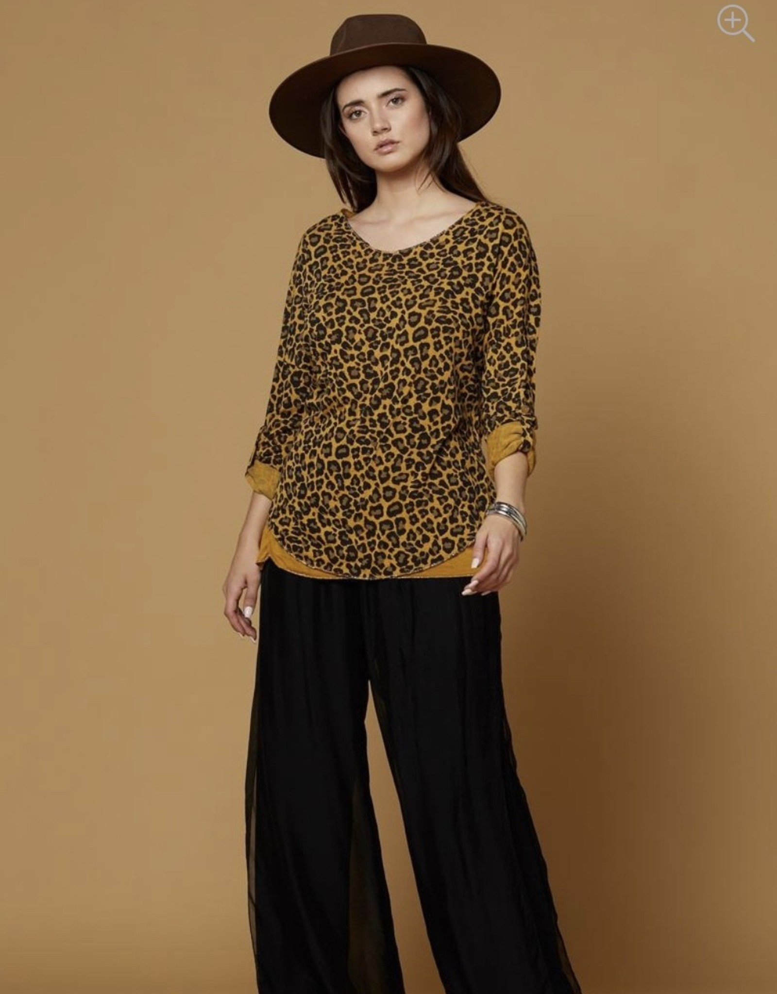 Scandal Italy Style Free, Silk Pants
