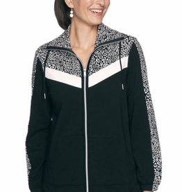 RR-34532 French Terry Zip Front Jacket