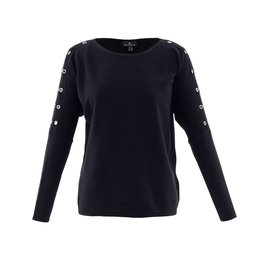 Marble Marble Fashions Grommet Sweater
