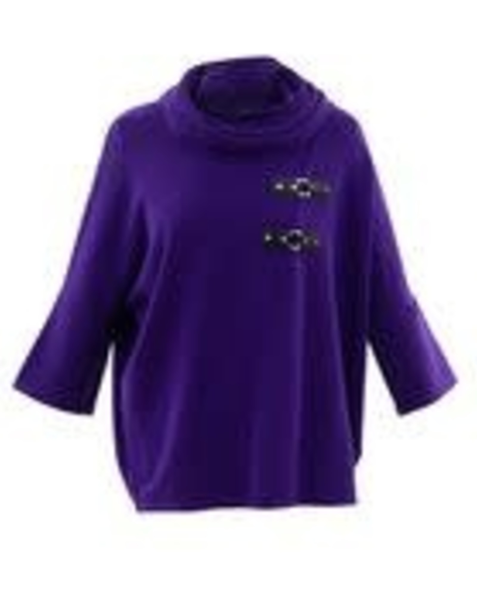 Marble Marble Fashions Buckle Sweater