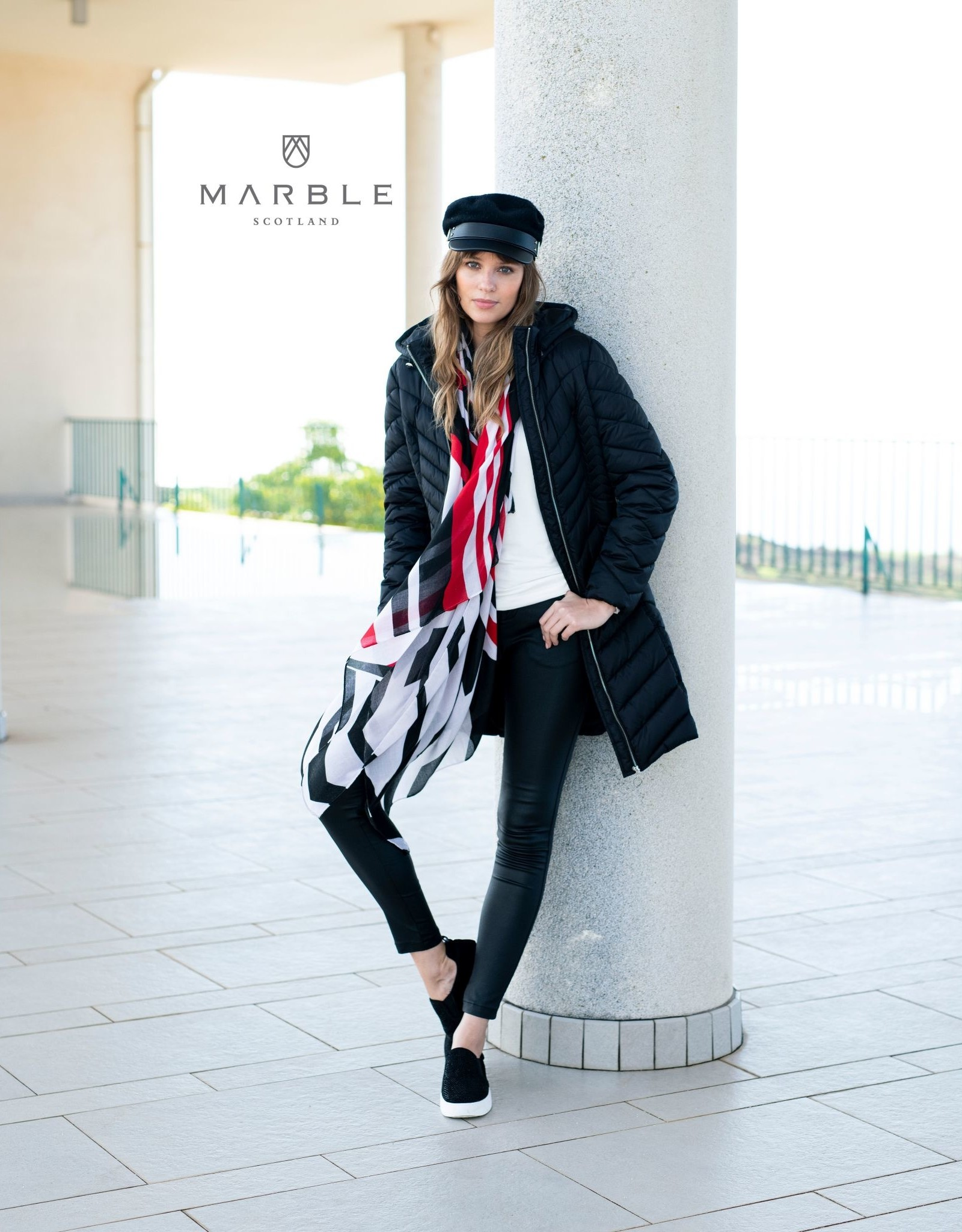 Marble Marble Fashions Puffer Coat