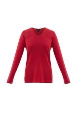Marble  Lurex V-Neck Sweater