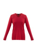 Marble Marble Fashions Lurex V-Neck Sweater