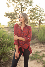 Olive Hill  Button Blouse