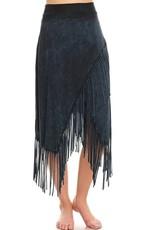 TParty-VRS9627 Fringe Maxi Skirt
