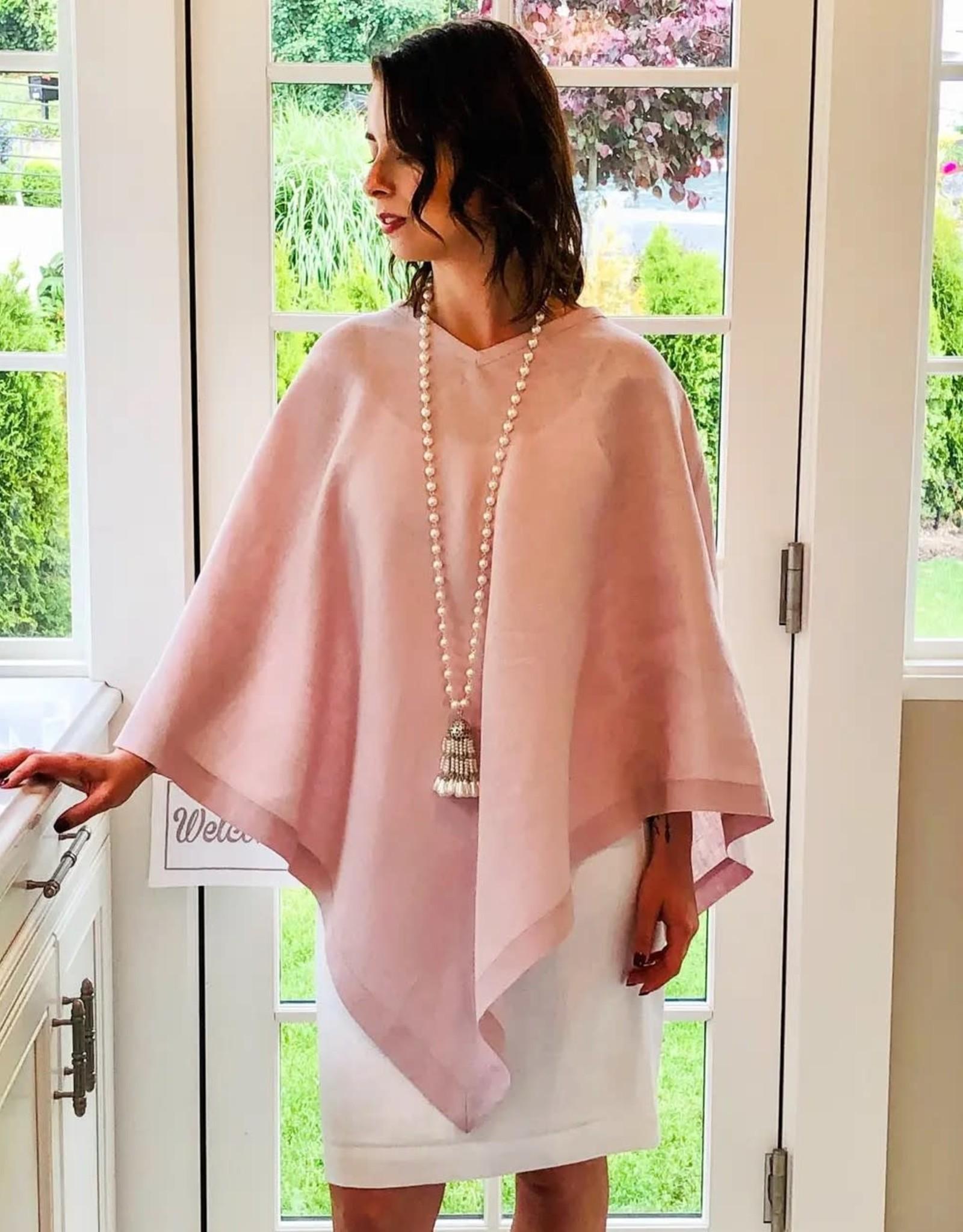 Crown Linen Designs Crown Linen Designs-Linen Poncho