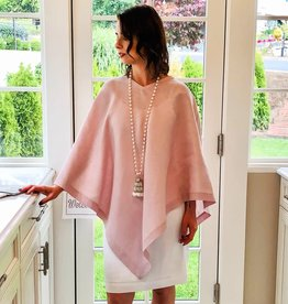 Crown Linen Designs Linen Poncho