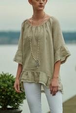 Crown Linen Designs Linen Willow Top