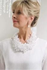 Crown Linen Designs Cluster Necklace