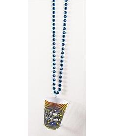 Shot Glass Birthday Beads: Happy Birthday Day