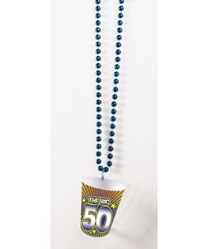 Shot Glass Birthday Beads: 50