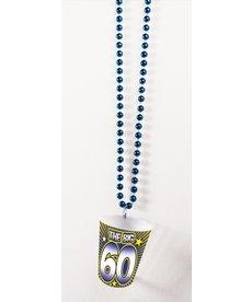 Shot Glass Birthday Beads: 60