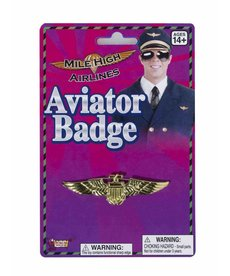 Aviator Badge: Gold