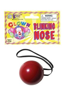 Blinking Red Nose