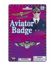 Silver Aviator Badge