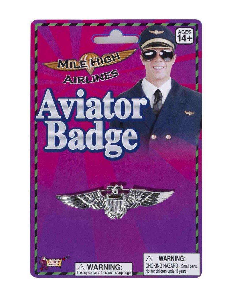 Silver Aviator Badge