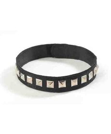 Studded Black Choker