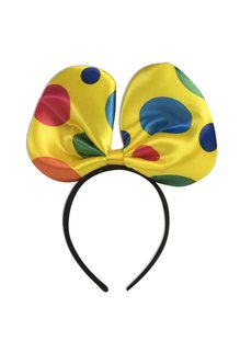 Clown Bow Tie Headband