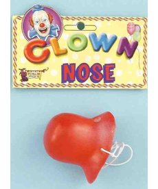Clown Squeaking Nose: Red