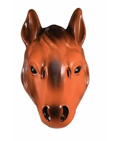 Plastic Animal Mask: Horse