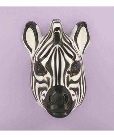 Plastic Zebra Mask