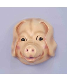 Plastic Animal Mask: Pig