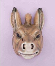 Plastic Animal Mask: Donkey