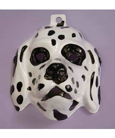 Plastic Dalmatian Mask