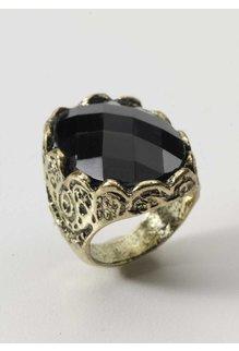 Medieval Fantasy: Stone Ring - Black