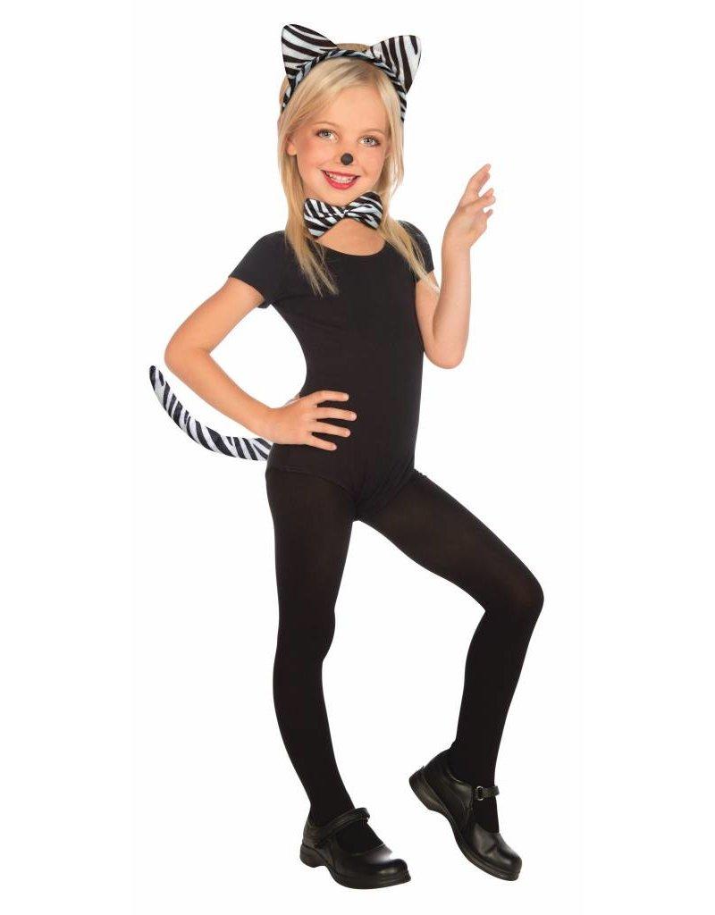 Child Plush Animal Kit: Zebra