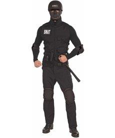 Adult S.W.A.T. Mask: Black