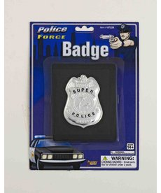 Police Badge with Wallet