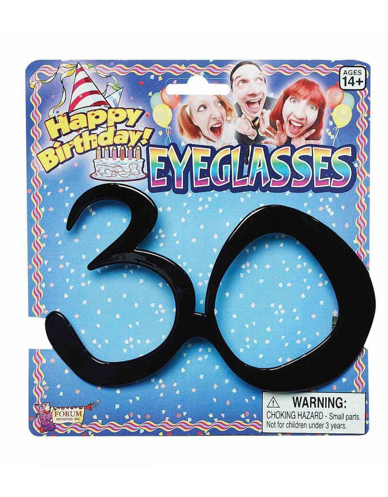Birthday Glasses: 30th