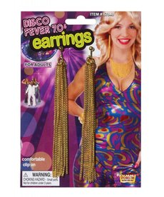 70's Disco Chain Earrings