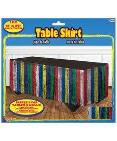 Table Skirt - Rainbow