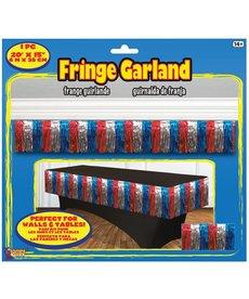 Fringe Garland - R/W/B