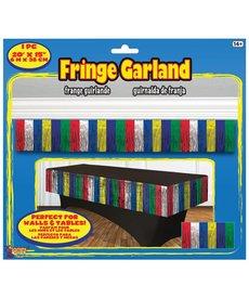 Fringe Garland - Rainbow