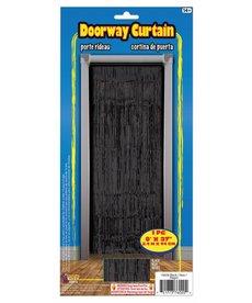 Doorway Curtain - Black