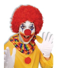 Adult Red Clown Afro Wig