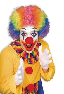 Clown Afro - Rainbow