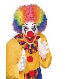 Adult Rainbow Clown Afro Wig