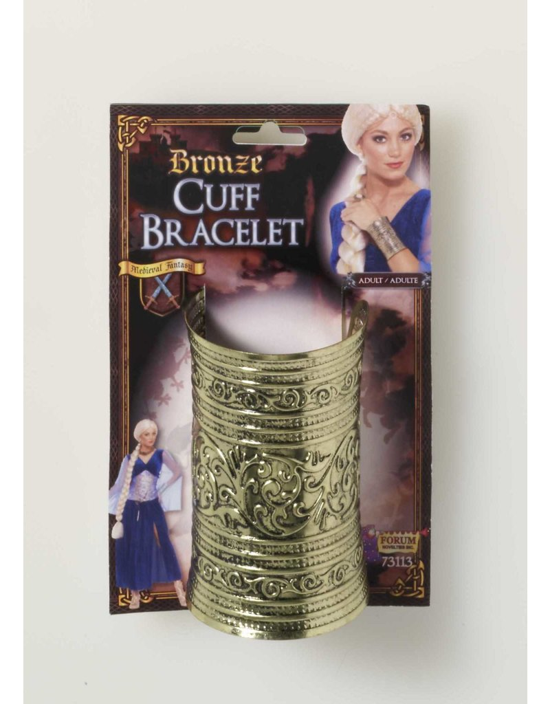 Medieval Bronze Cuff Bracelet