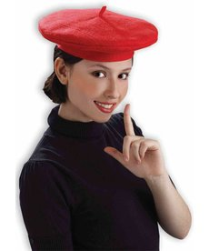 Red French Beret