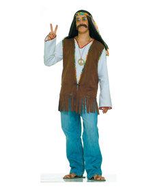 Men's Male Hippie Vest: Standard
