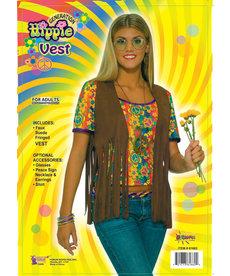 Women's Sexy Hippie Vest: Standard