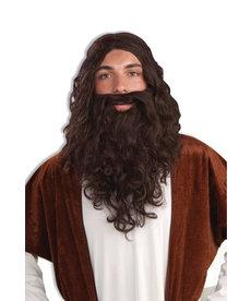 Adult Biblical Wig & Beard