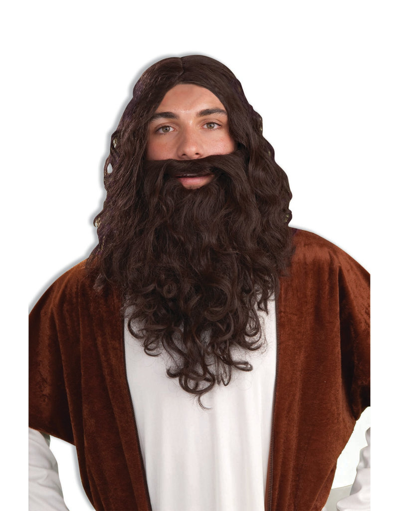 Adult Biblical Wig & Beard