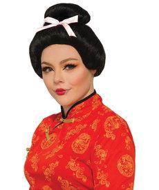 Adult Black Geisha Wig
