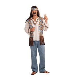 Men's 60's Hippie Groovy Set: Standard