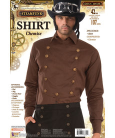 Brown Steampunk Shirt